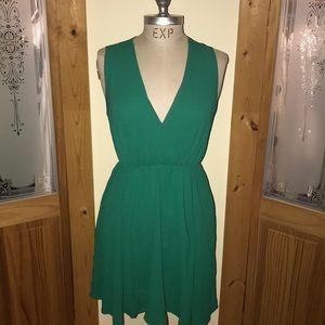 Green Express Dress